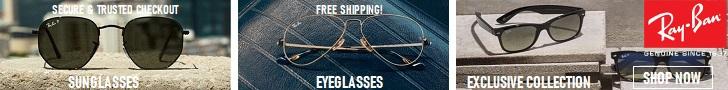 雷朋是您唯一需要的眼镜